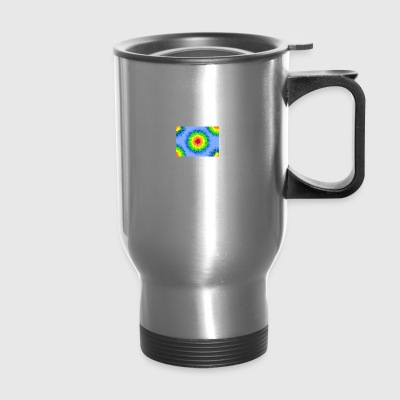 tie dye vector - Travel Mug