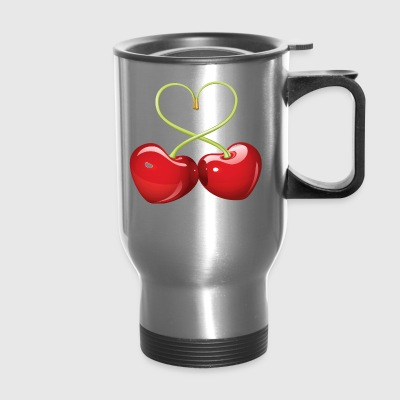 Lovely Cherries - Travel Mug