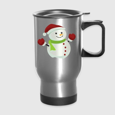 CHRISTMAS SNOWMAN - Travel Mug