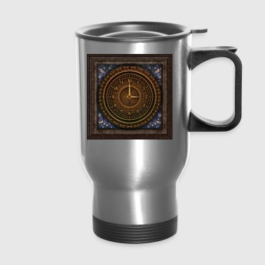 time travel - Travel Mug