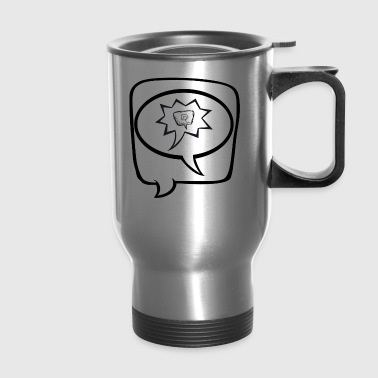 Speech Bubbles - Travel Mug