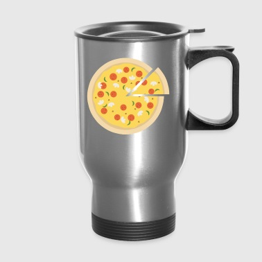 Pizza Hut Present Gift Italy Italian Meal Funghi - Travel Mug