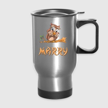Marry Owl - Travel Mug