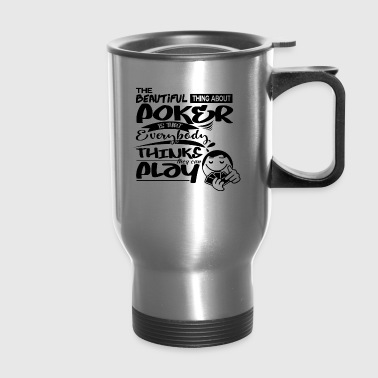 Poker strategists - Travel Mug