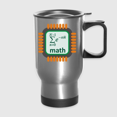 math - Travel Mug