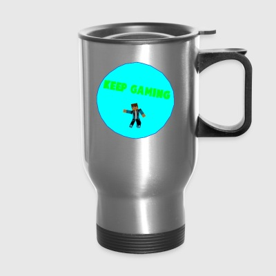 Keep Gaming Picture - Travel Mug