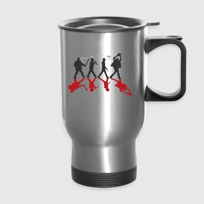 Horror Stars on Abbey Road Killer Red Halloween - Travel Mug