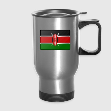 Kenya Flag - Travel Mug