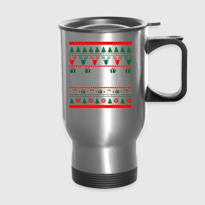 I Am Army Officer Christmas Ugly Sweater - Travel Mug