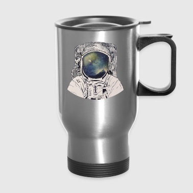 dreaming on space - Travel Mug