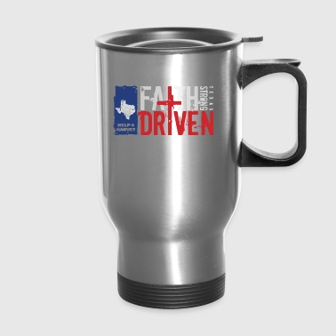 Hurricane Harvey texas - Travel Mug