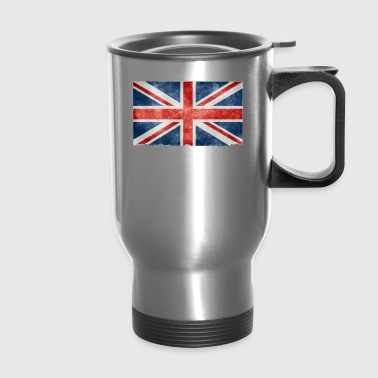 UK Flag Tshirt - Travel Mug