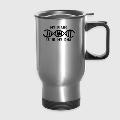 dns dna not only love calling piano klavier png - Travel Mug