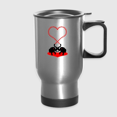 Big heart - Travel Mug
