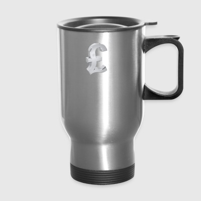Currency, pound - Travel Mug