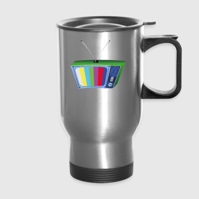 tv retro - Travel Mug
