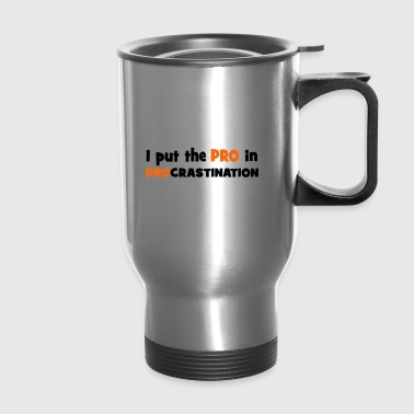 lazy - Travel Mug