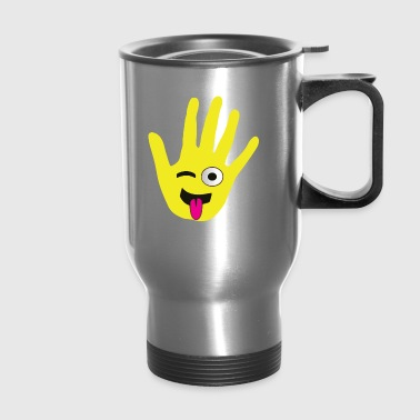 HIGH FIVE MY FACE - Travel Mug