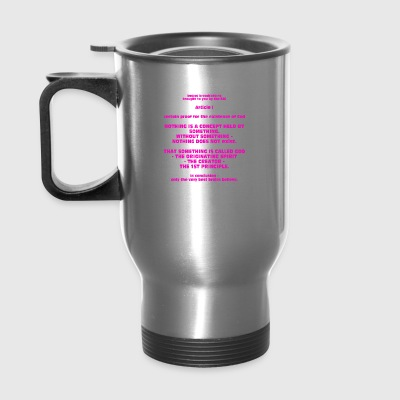 Proof for the Existence of God - Travel Mug