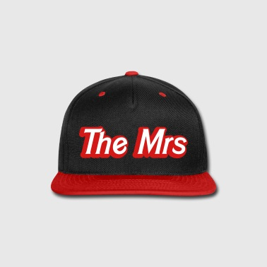 The Mrs Woman recently married wife - Snap-back Baseball Cap
