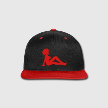 Afro Mudflap Girl - Snap-back Baseball Cap