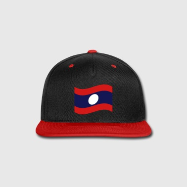 Laos / Lao Flag Wave - Snap-back Baseball Cap