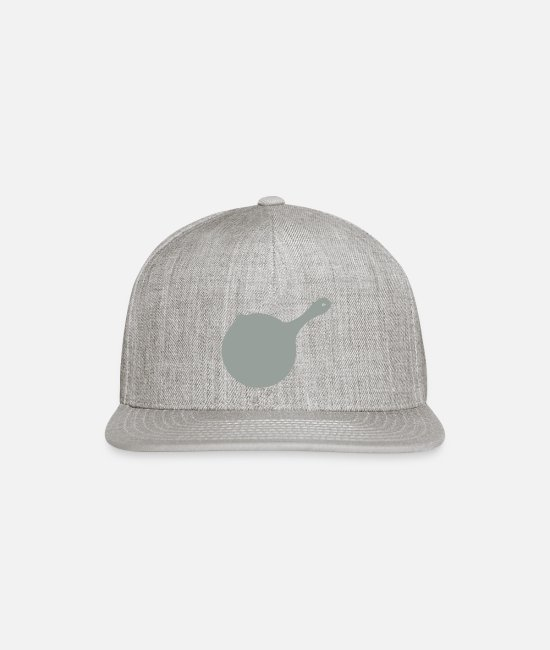 Heat Caps & Hats - Frying Pan 15 - Snapback Cap heather gray