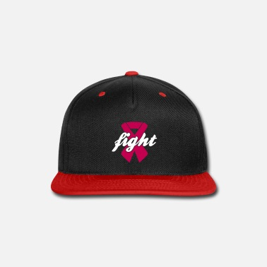 Breast Cancer Ribbon Fight - Breast Cancer, Pink Ribbon - Snapback Cap