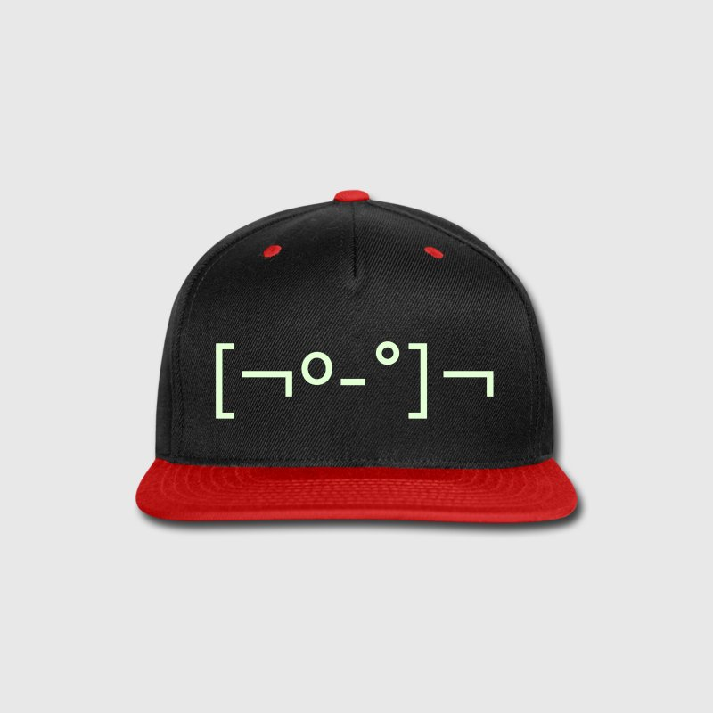 Kaomoji Zombie Japanese Emoticon - Snap-back Baseball Cap