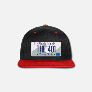 License Plate RI License Plate Series - THE 401 - Snapback Cap