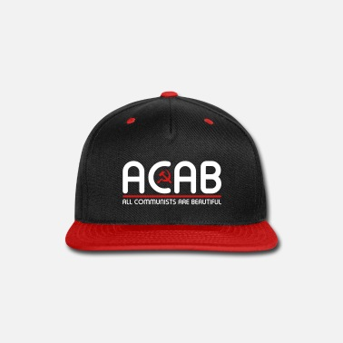 Communist All Communists Are Beautiful – ACAB - Snapback Cap