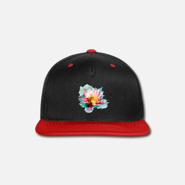 Lotus Watercolor Lotus Flower! - Snapback Cap