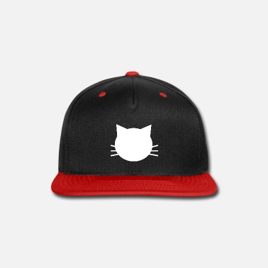 White Kitty - Snapback Cap