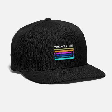 Vhs VHS and chill - Snapback Cap