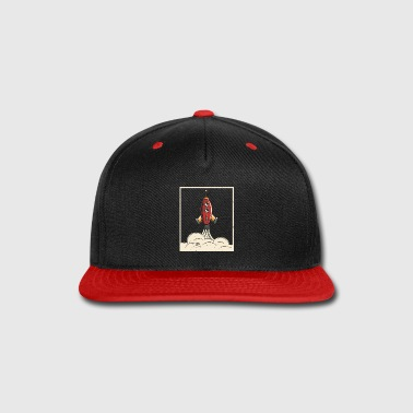 Hipster Retro Rocket Time to the Galaxy T Shirt - Snap-back Baseball Cap