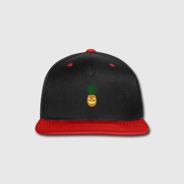 Hawaiian Carved Pineapple Hawaiian Halloween - Snap-back Baseball Cap