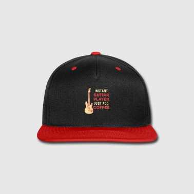 Guitar Player Guitar Player Coffee - Snap-back Baseball Cap