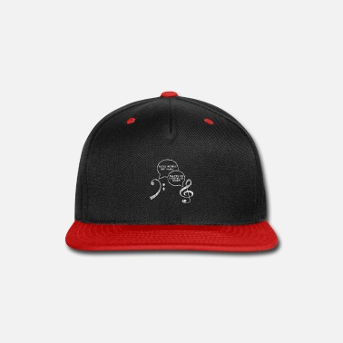 Concert Music Clef - Snap-back Baseball Cap