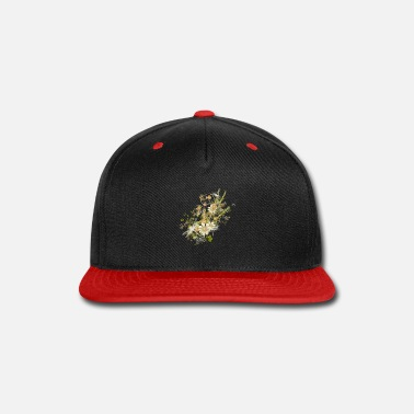 Grass Grasses with dragonflies - Snap-back Baseball Cap