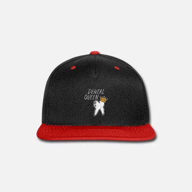 Found Dental Queen Dentist - Snap-back Baseball Cap
