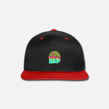 80s Clothing 80's Gift Party Retro Gaudy Colors - Snapback Cap