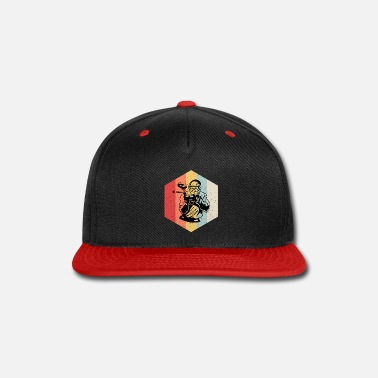 Splatter Retro Paintball rhombus gift - Snapback Cap