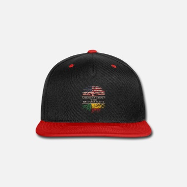 African American American grown with beninese roots vintage - Snap-back Baseball Cap