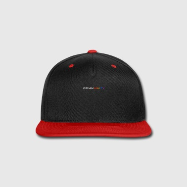 Community Community shirt and accessories - Snap-back Baseball Cap