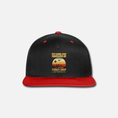 First Anuual Wkrp First anuual WKRP Turkey Drop withTurkey Drop - Snapback Cap