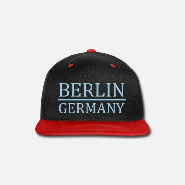 Germany Berlin - Germany - Snap-back Baseball Cap