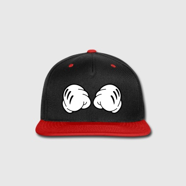 Mickey Hands White Gloves - Snap-back Baseball Cap