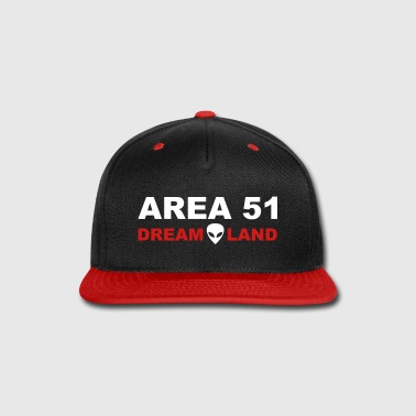 Area 51 Dreamland - Snap-back Baseball Cap