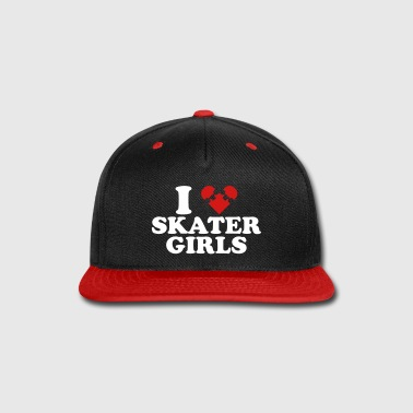 I Heart Skater Girls - Snap-back Baseball Cap