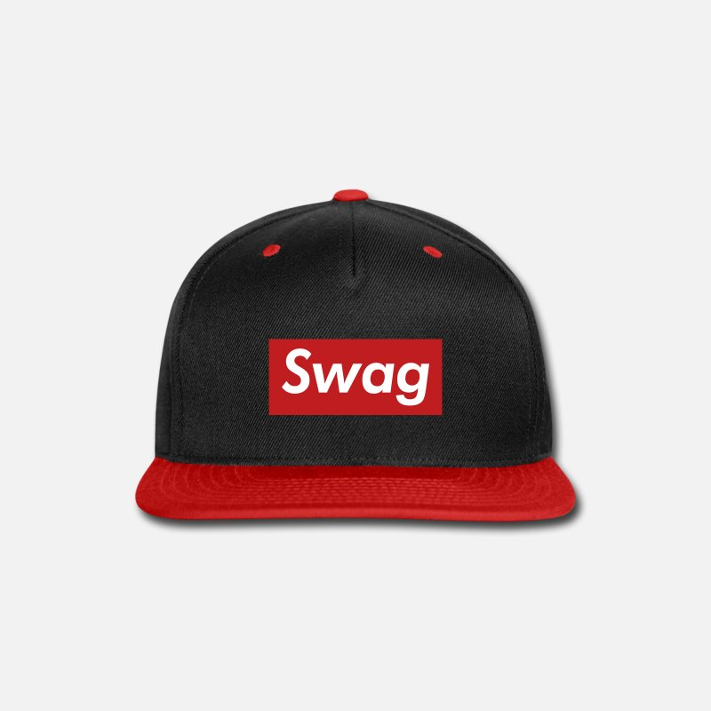 80a2bab35b6 Tyler Caps - Swag Reigns Supreme - Snapback Cap black red